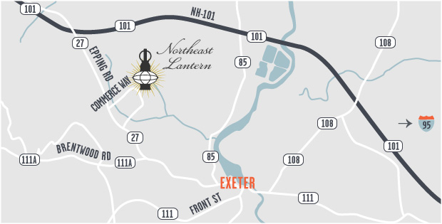 northeast lantern map